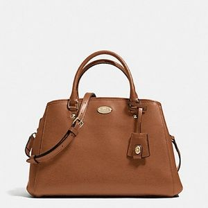 Coach 'Small Margot' Leather Carryall Satchel